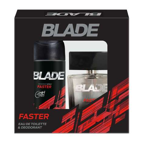 Blade Faster Edt Parfüm 100ml & Deodoran