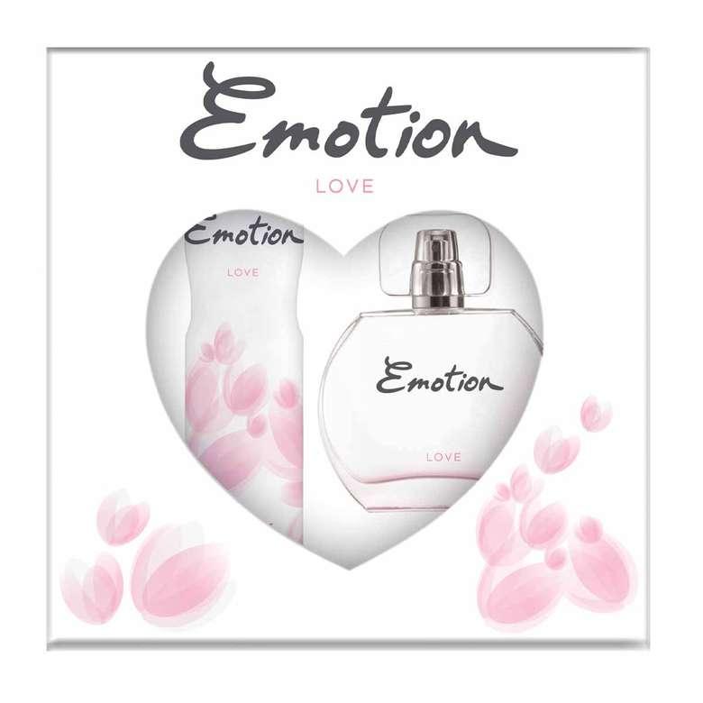 Emotion Love Edt Parfüm 50ml + Deodorant