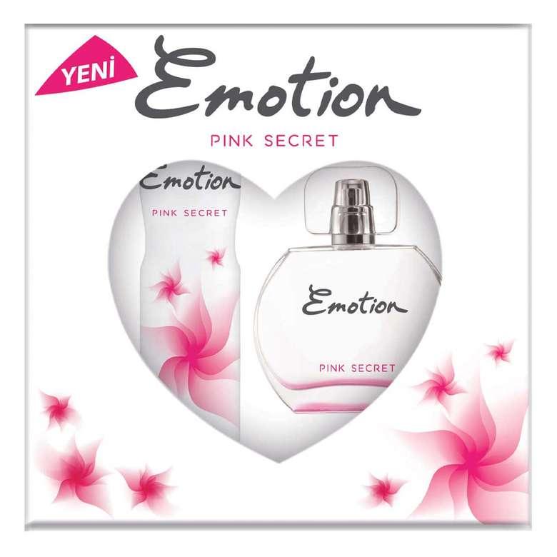 Emotion Pink Secret Edt Parfüm 50ml + Deodorant