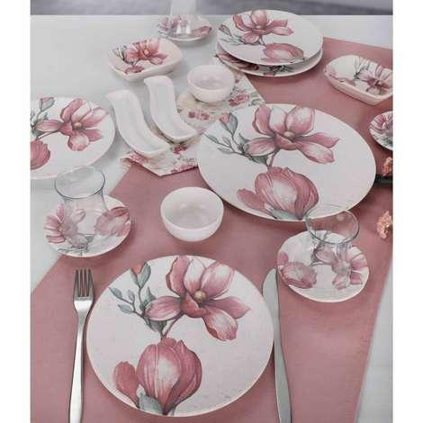 Keramika Kahvaltı Seti 19 Parça - Orkide