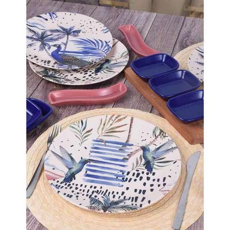 Keramika 4 Kişilik Yemek Takımı 14 Parça