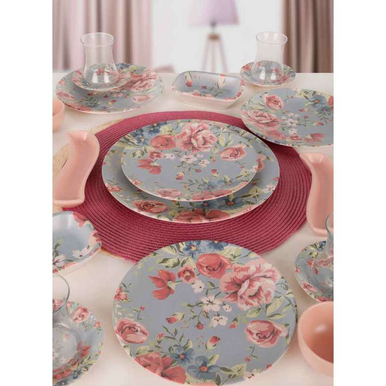 Keramika Rose Kahvaltı Takımı 19 Parça 4 Kişilik - 18219