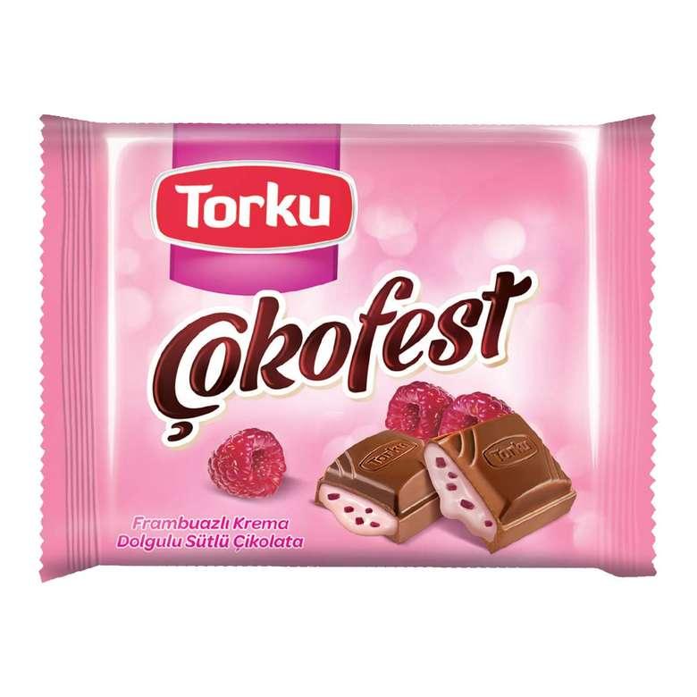 Torku Çokofest Çikolata Frambuazlı 75 G