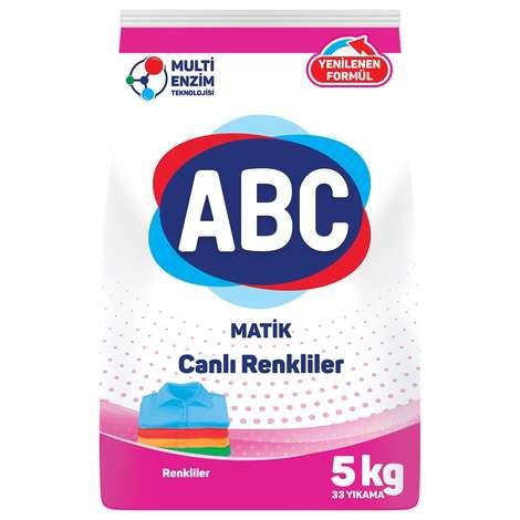 ABC Toz Deterjan Renkli 5 Kg