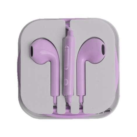 Kulak İçi Kutulu Ep-16 Kulaklık  Mor