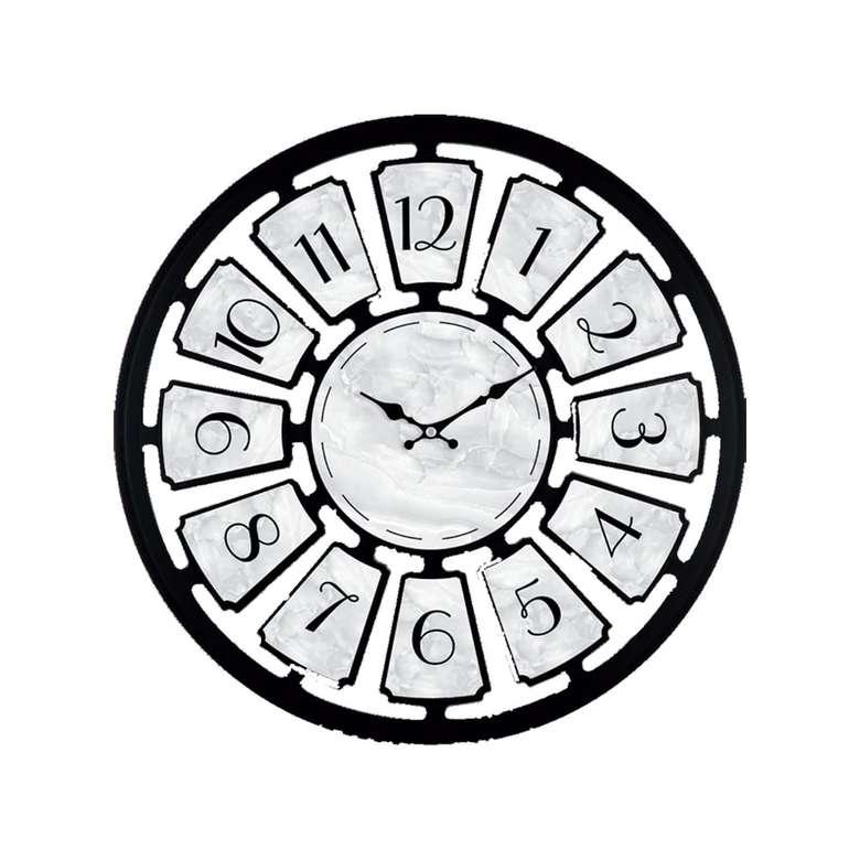 Duvar Saati 50cm - Siyah