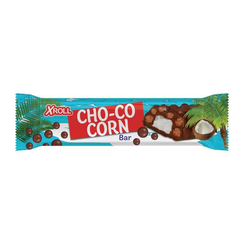 Xroll Cho-co Corn Bar Çikolata Hin. Cevizli 40 G