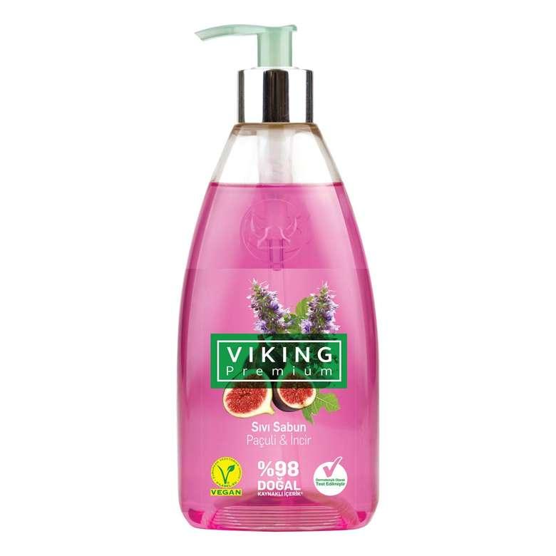 Viking Premium Paçuli & İncir Sıvı Sabun 500 Ml