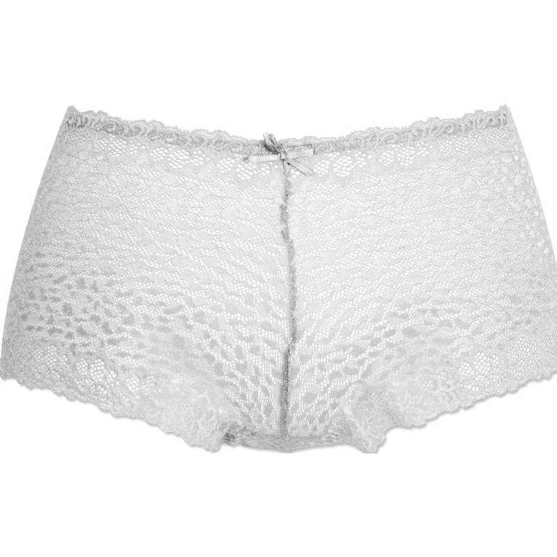 Marie Claire Kadın Dantelli Boxer - Beyaz L-XL