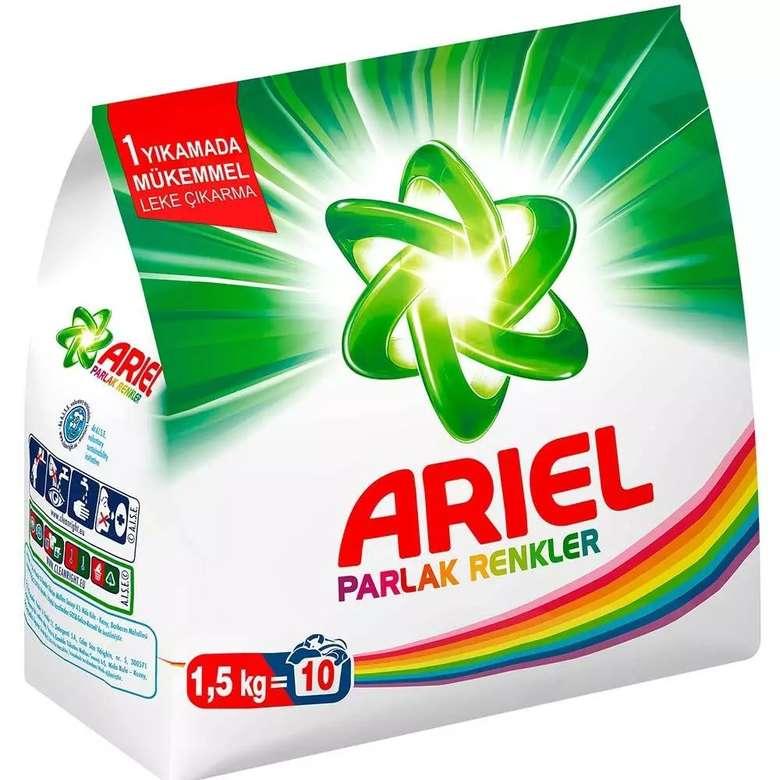 Ariel Parlak Renkler Toz Deterjan   1,5 Kg