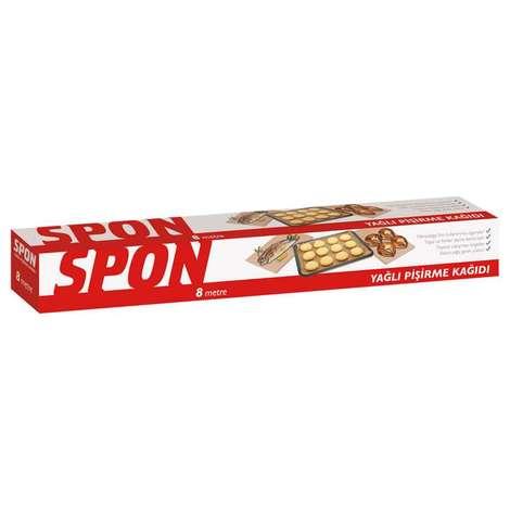 Spon Yağlı Pişirme Kağıdı 8 M