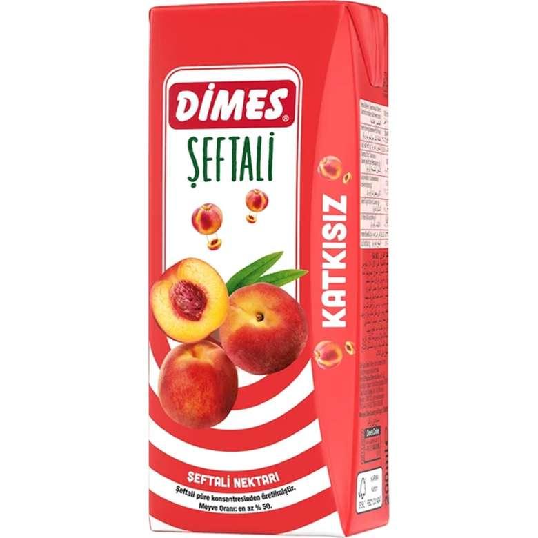 Dimes Meyve Nektarı Şeftali 200 Ml
