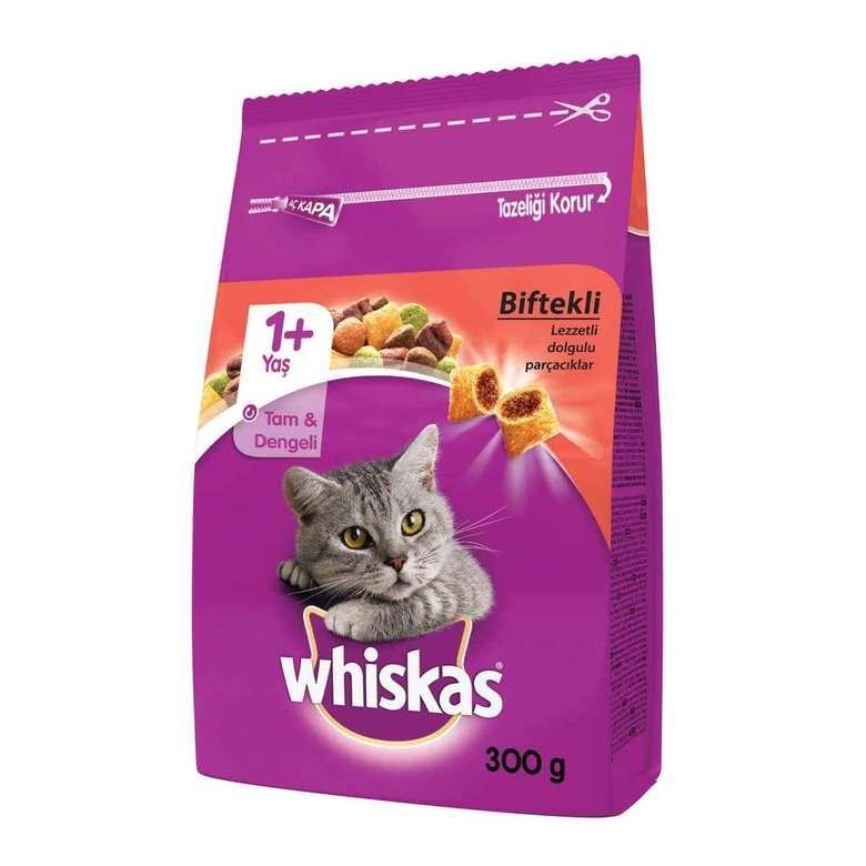 Whiskas Kedi Maması Biftek/havuç 300 G