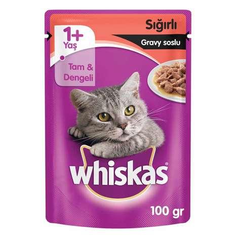 Whiskas Etli Kedi Maması 100 G
