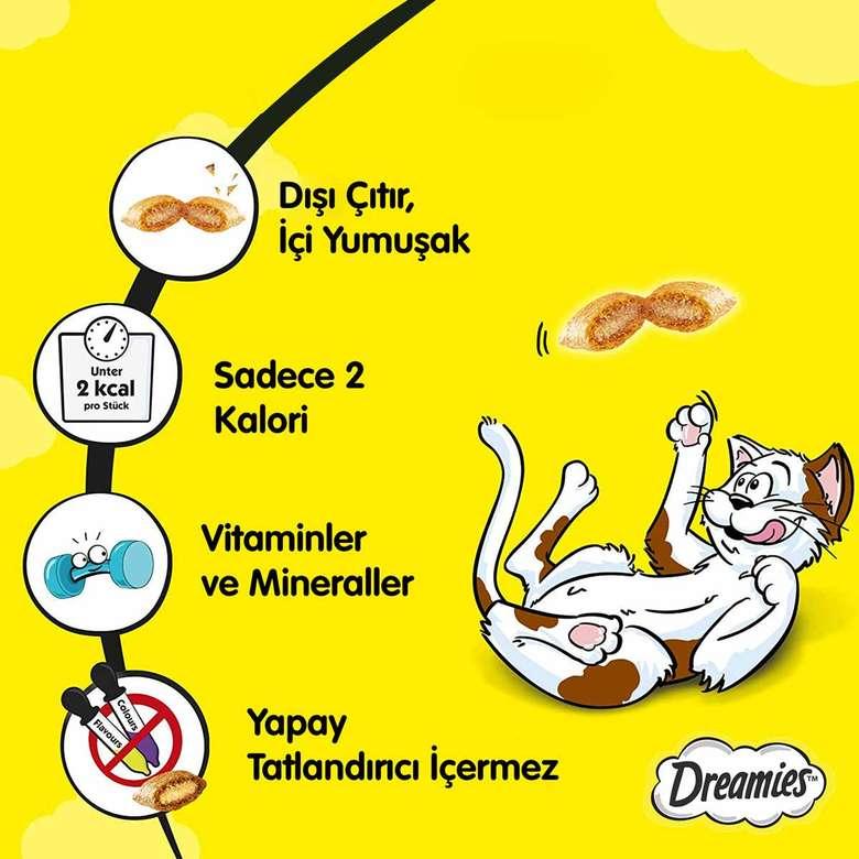 Dreamies Tavuklı Kedi Maması 60 G