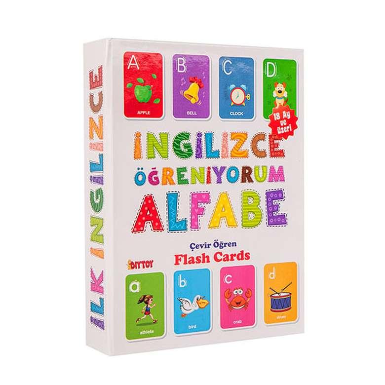 İngilizce Öğreniyorum Alfabe Flash Cards