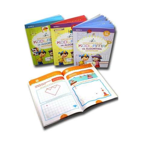 Çocuklar İçin İlk Kodlama Ve Algoritma Aktiviteleri - 4 Kitap