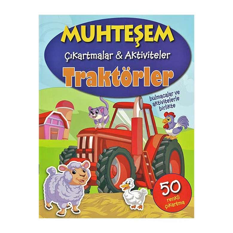 Muhteşem Çıkartmalar Ve Aktiviteler - Traktörler