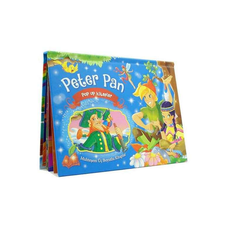 Peter Pan Üç Boyutlu Kitap (Büyük Boy)