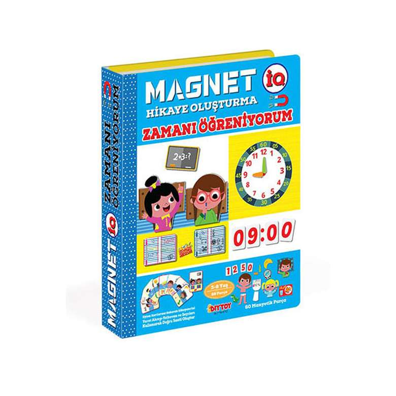Magnet - Iq Hikaye Oluşturma Zamanı Öğreniyorum Diytoy
