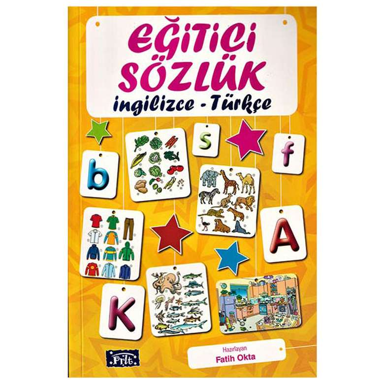 Eğitici Sözlük - İngilizce - Türkçe - Parıltı Yayınları