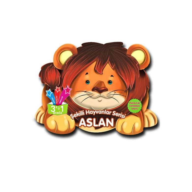 Şekilli Hayvanlar Serisi - Aslan
