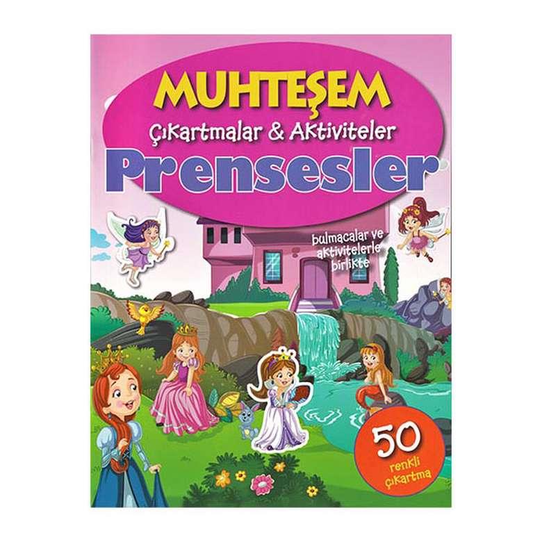 Muhteşem Çıkartmalar Ve Aktiviteler - Prensesler