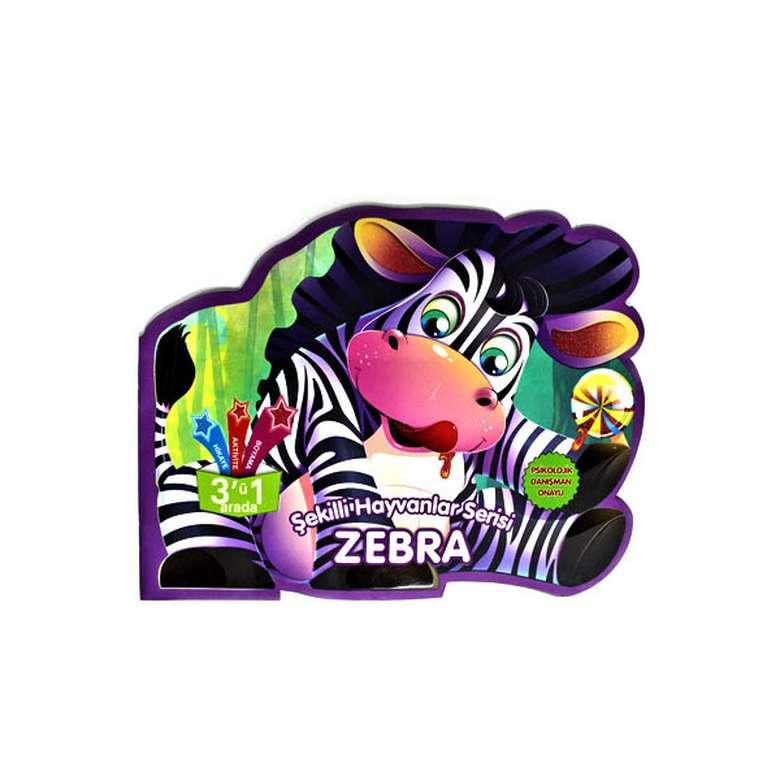 Şekilli Hayvanlar Serisi - Zebra