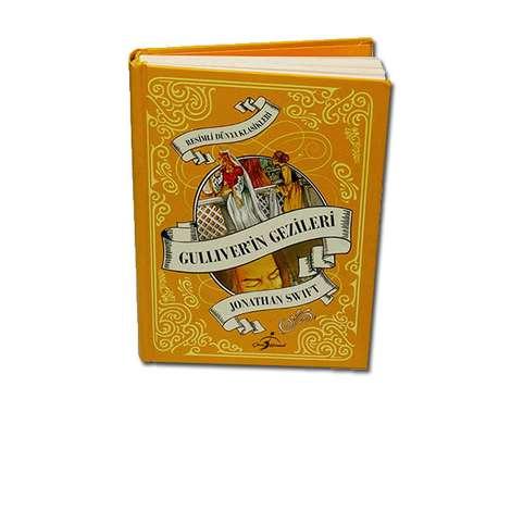 Gulliver'in Gezileri - Çocuk Klasikleri - Ciltli