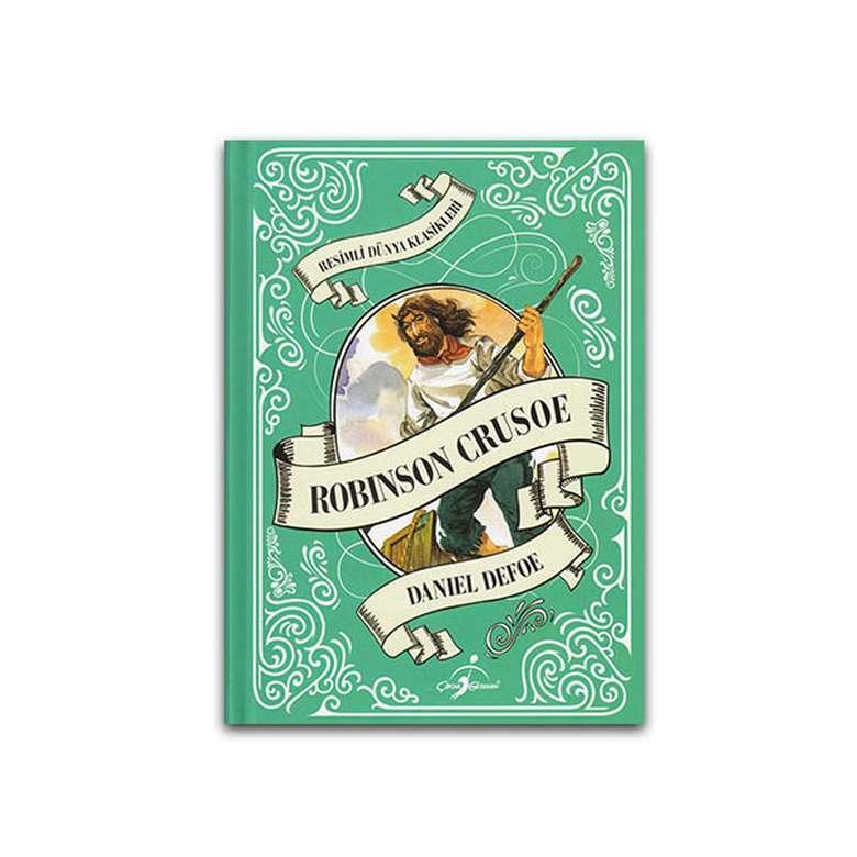 Robinson Crusoe - Çocuk Klasikleri - Ciltli