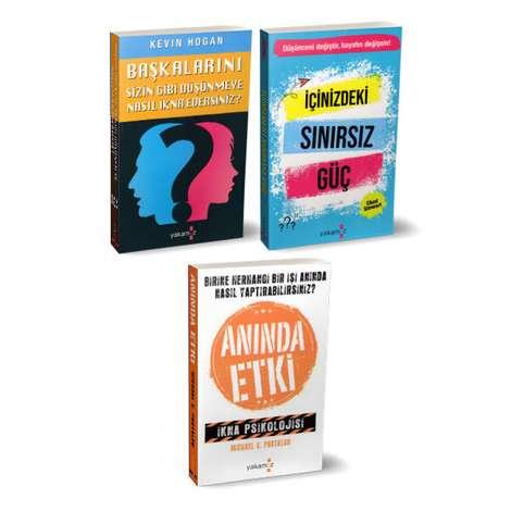 Anında Etki Kişisel Gelişim Seti - 3 Kitap