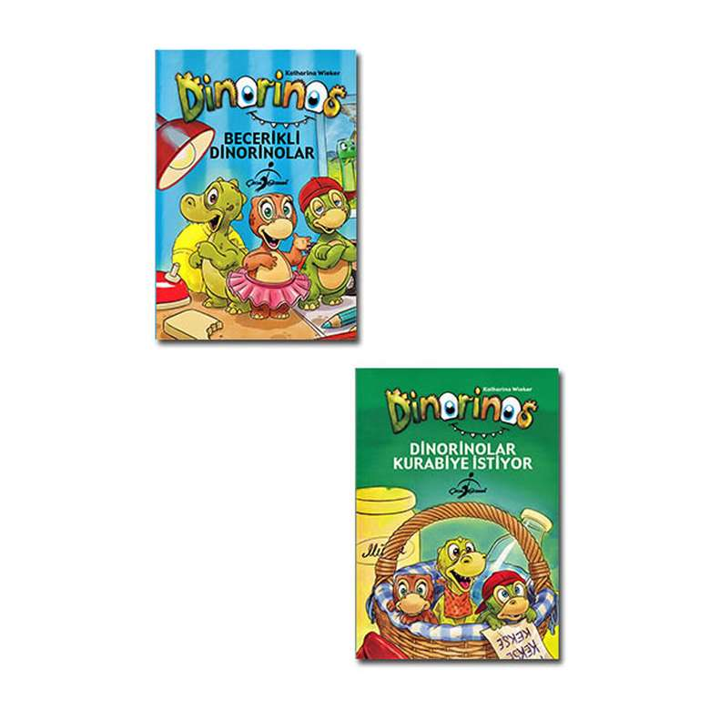 Dinorinos Çocuklar İçin Hikaye Seti - 2 Kitap