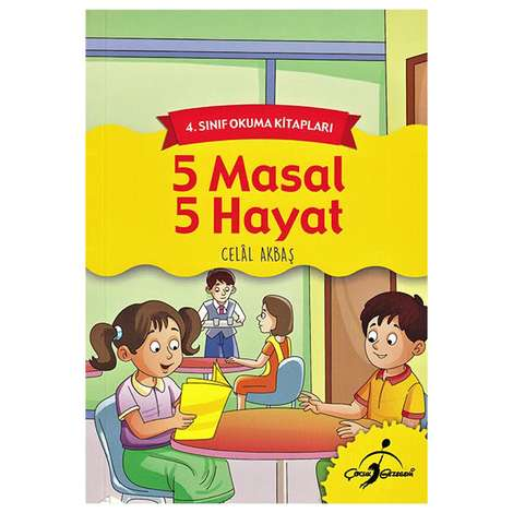 5 Masal 5 Hayat - 4. Sınıf Okuma Kitapla