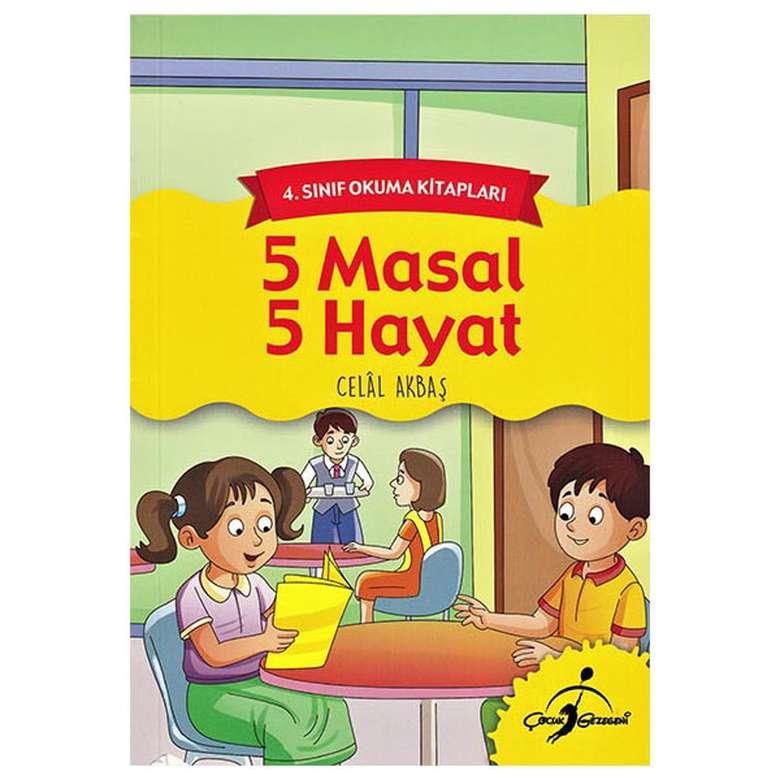 5 Masal 5 Hayat - 4. Sınıf Okuma Kitapları
