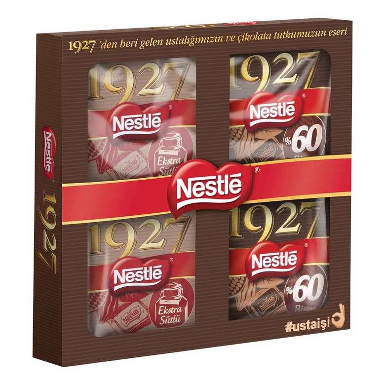 Nestle 1927 Çikolata 2 Sütlü & 2 Bitter 4x60 G