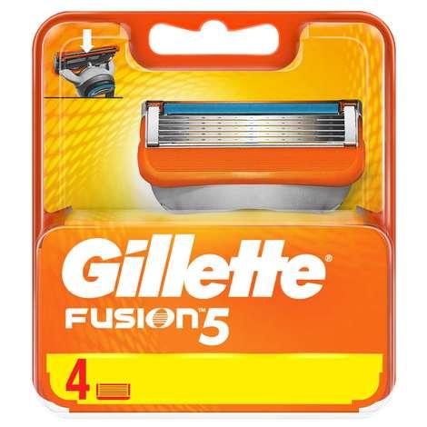 Tıraş Bıç Fusion Power Yedek 2'li Gille