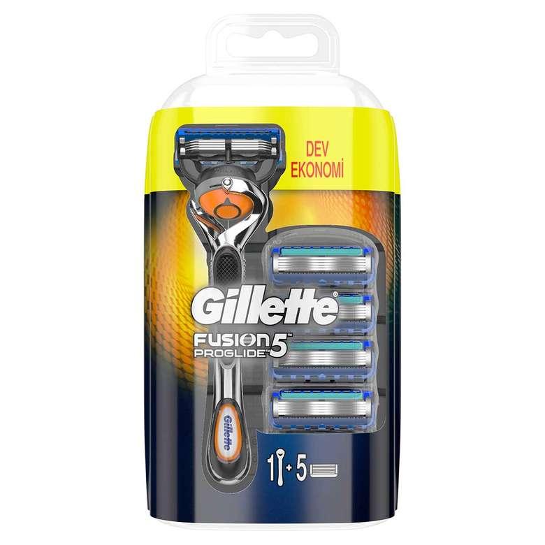 Gillette Fusion Pro Glide 5 Tıraş Makinesi + Tıraş Bıçağı