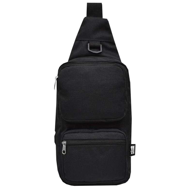 Bay/bayan Çapraz Omuz Askılı Çanta - Siyah