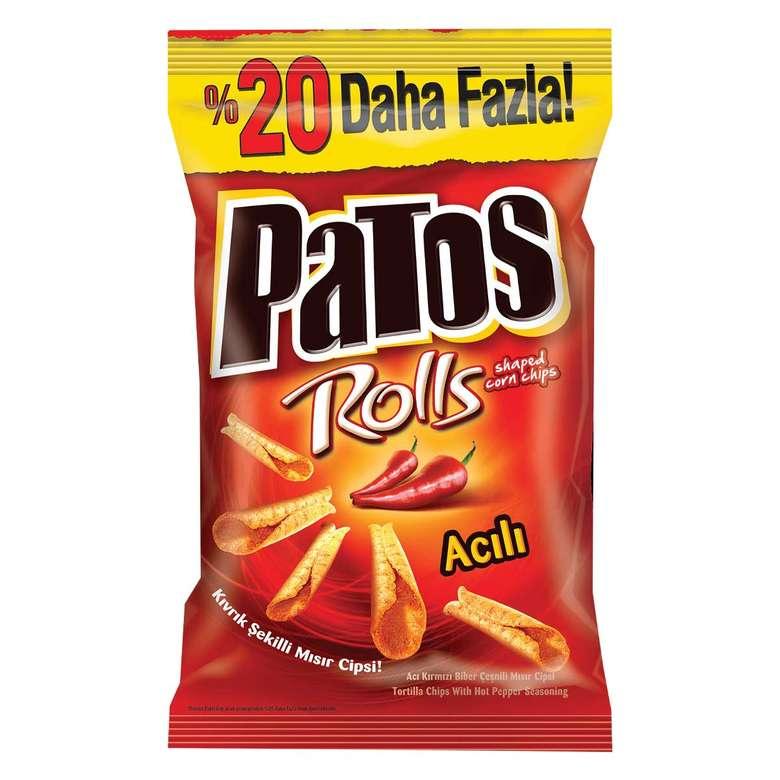 Patos Cips Rolls Mısır 212 G