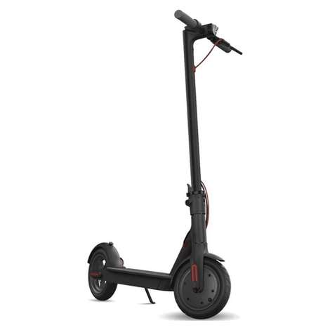 Bood Kickscooter FW-H85B Elektrikli Scooter - Siyah