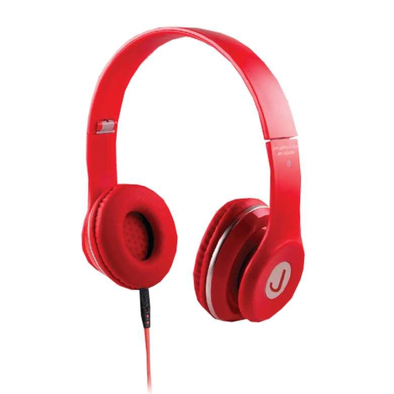 Joyplus JP3039 Kablolu Kulaklık -Kırmızı