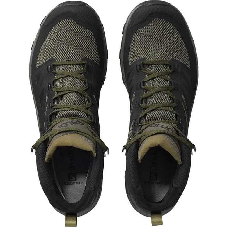 Salomon 404763 Erkek Ayakkabı - Yeşil 46