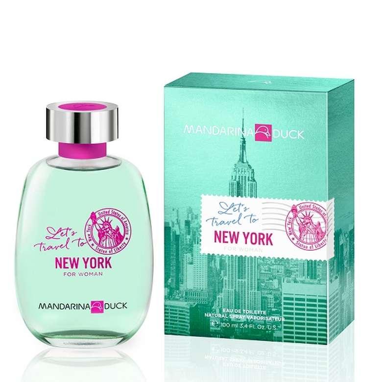Mandarina Duck Let's Travel to NY Edt 100 Ml Kadın Parfümü