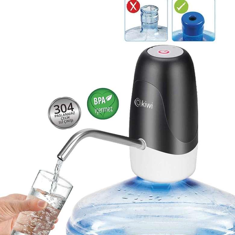 Kiwi Kwp-8510 Şarjlı Su Pompası