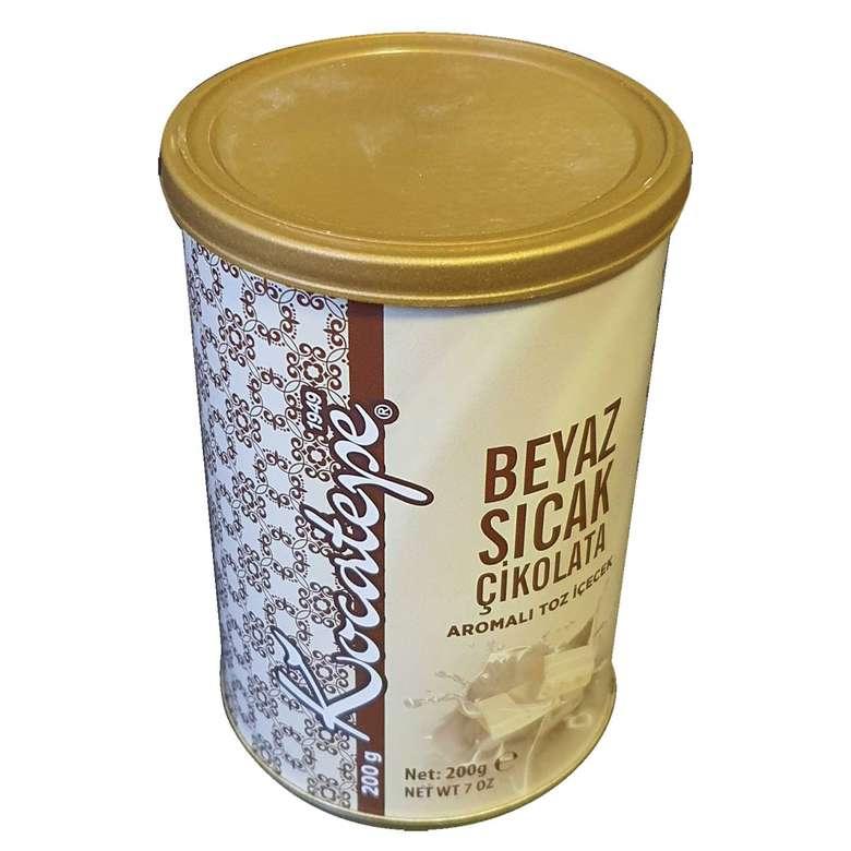 Kocatepe Beyaz Çikolatalı Sıcak Çikolata Toz İçecek  200g