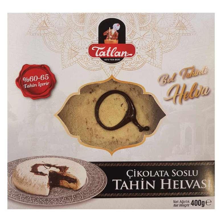 Tatlan  Beyaz Çikolata Dolgulu Kürek Helva  400g