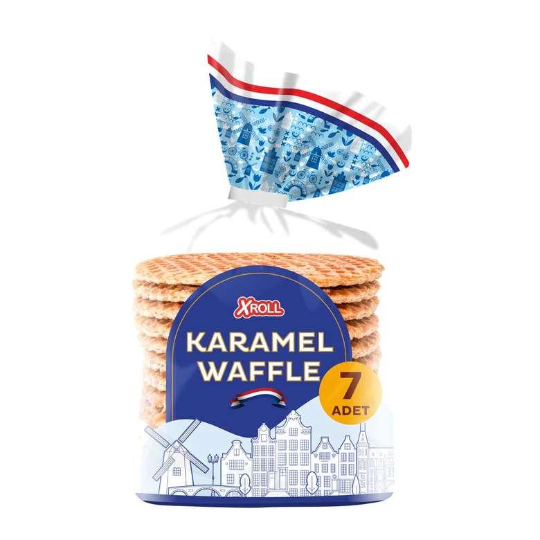 Xroll Gofret Karamelli Waffle 252 G