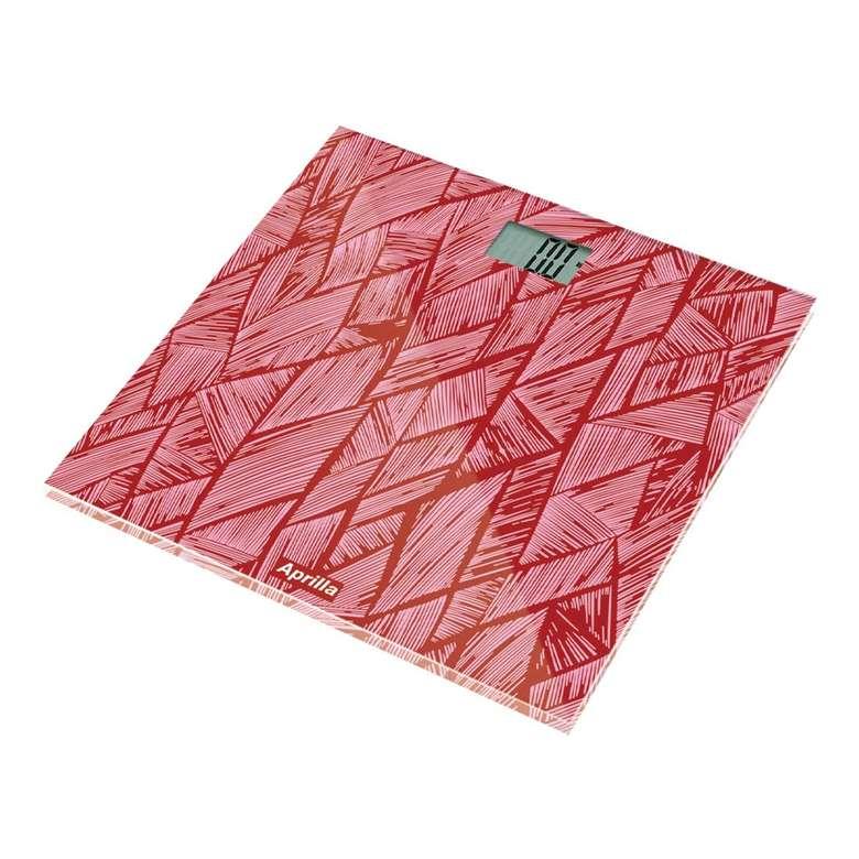 Aprilla ABS-1025 Banyo Dijital Baskülü - Kırmızı