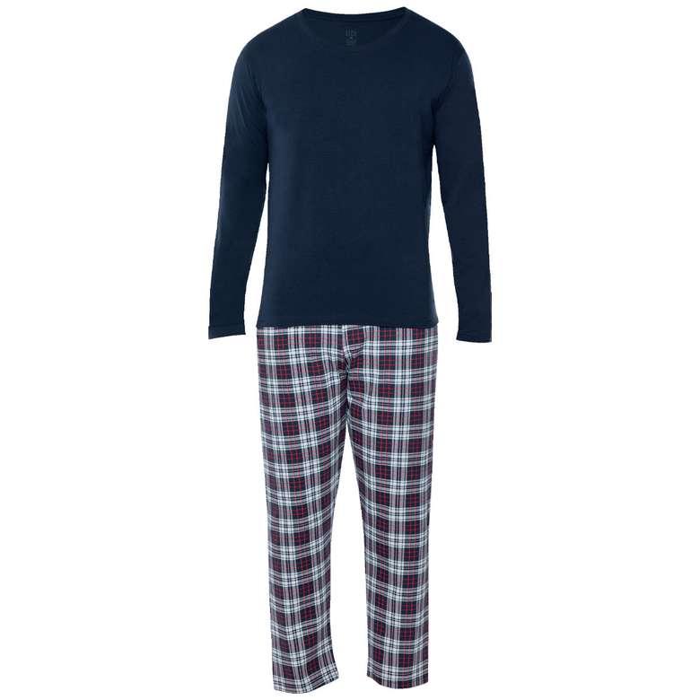 Erkek Uzun Kollu Süprem Pijama