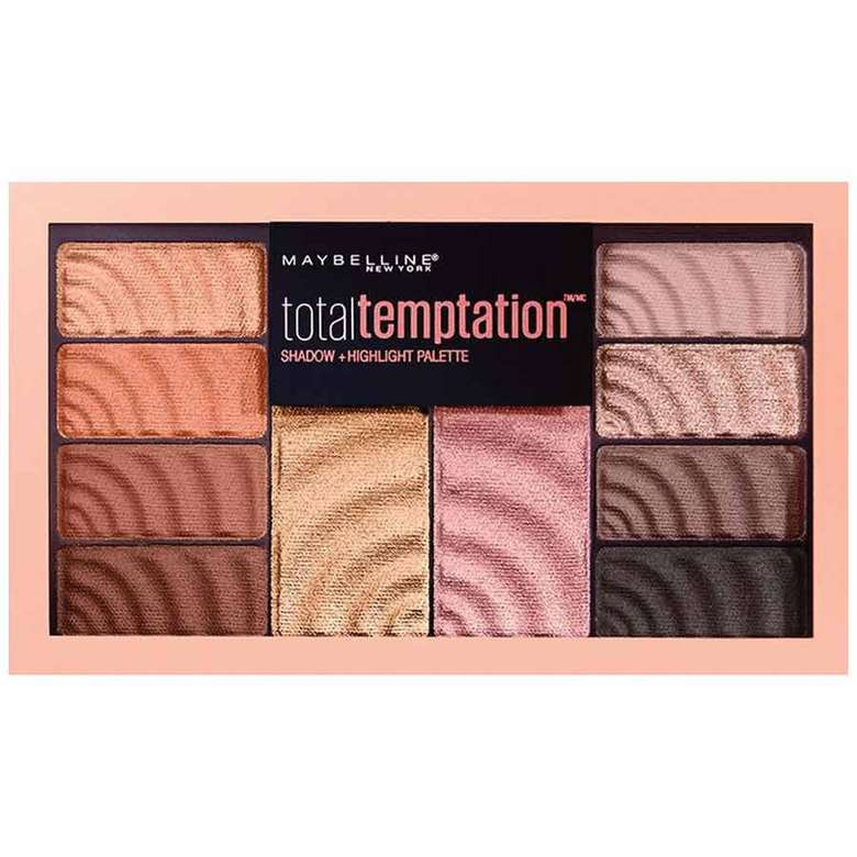 Maybelline New York Total Temptation Göz Farı ve Aydınlatıcı Paleti